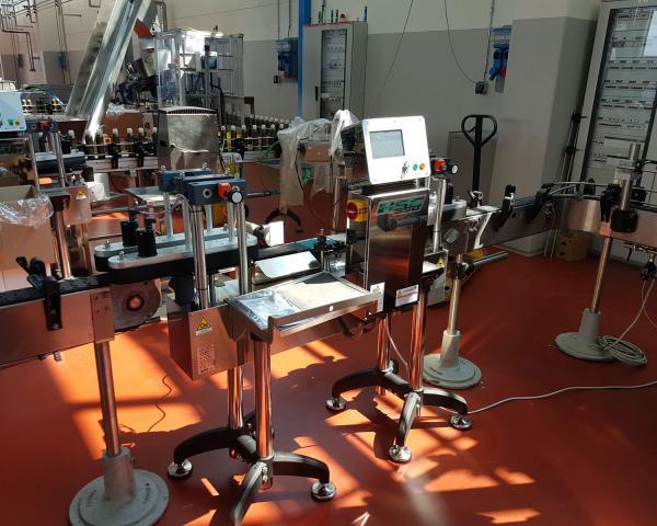 Оборудование, линия для взвешивания, чеквейер Nemesis серия S