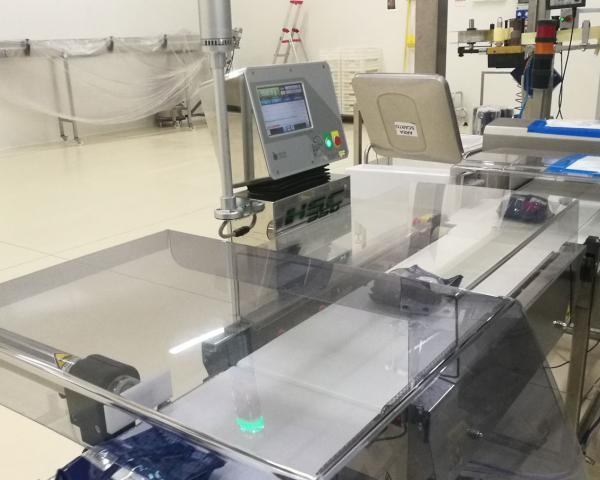 Оборудование, линия для взвешивания, металл детектор Nemesis серия M