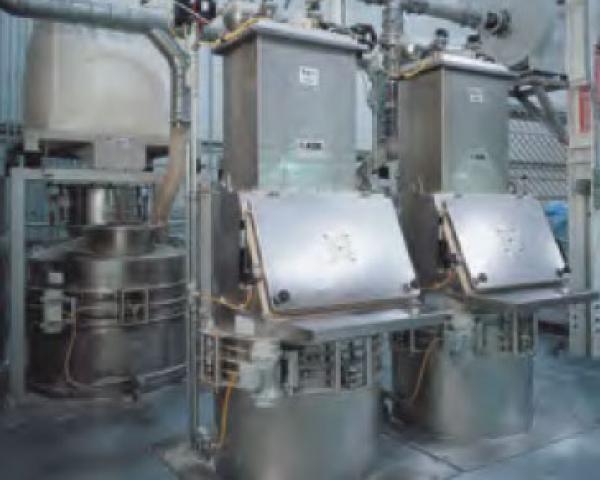 Оборудование для автоматизации, со встроенным фильтром у беспылевого растаривателя AZO модель ET RF