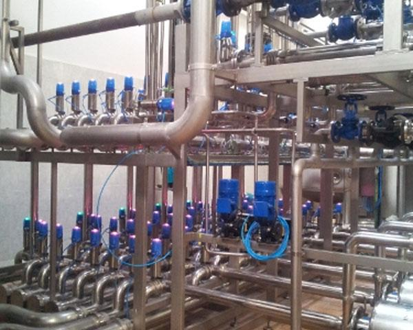 Оборудование, для приемки и обработки молока Fibosa