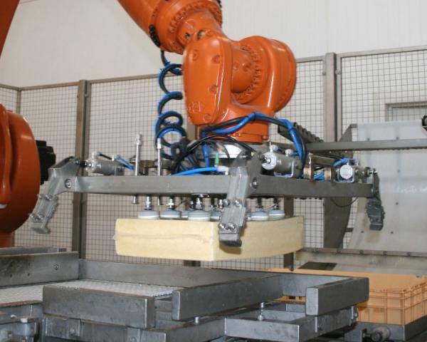 Оборудование, Система паллетизации Fibosa