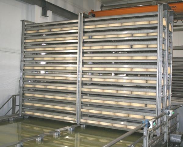Оборудование, Солильное отделение с использованием стеллажей Fibosa