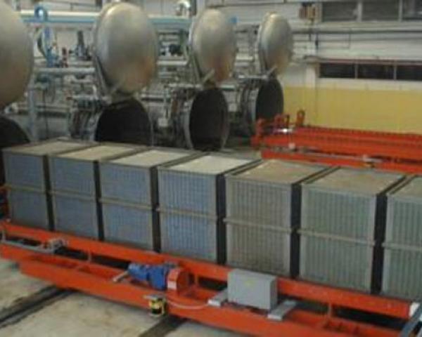 Автоматическая линия стерилизации тунца в жестебанке, готовое оборудование для приготовления Украина