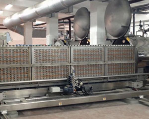 Автоматическая линия стерилизации тушенки, готовое оборудование для приготовления Украина