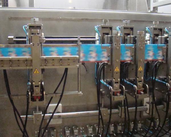 Фасовка йогуртов в дой-пак пакет, готовое оборудование Украина