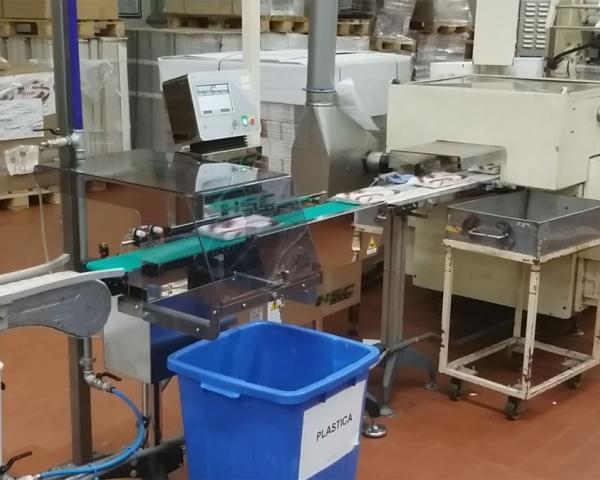 Контроль веса в потоке шоколадных батончиков, готовое оборудование Украина