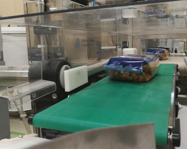Контроль веса в потоке упаковки макарон, готовое оборудование Украина