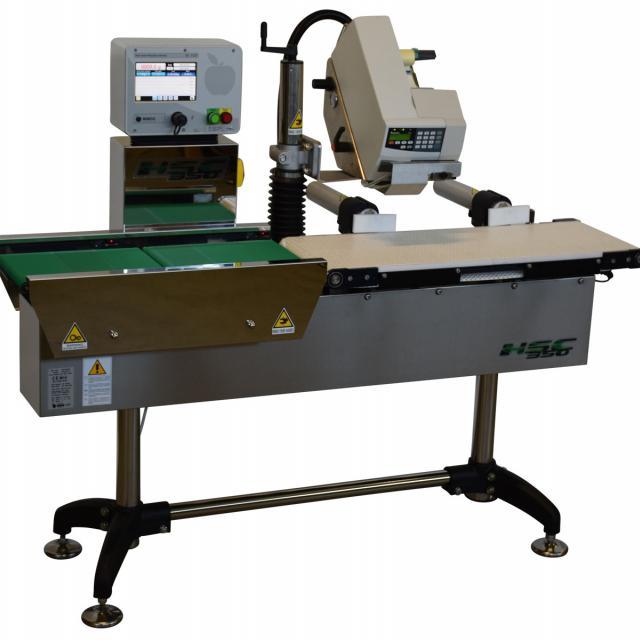 Оборудование, линия для взвешивания, весо-этикетировщик Nemesis серия KS