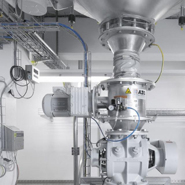 Оборудование для автоматизации, комколоматель AZO модель KB500Q