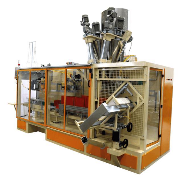 Оборудование, Линия упаковка в бумажные пакеты New Project Р42-10