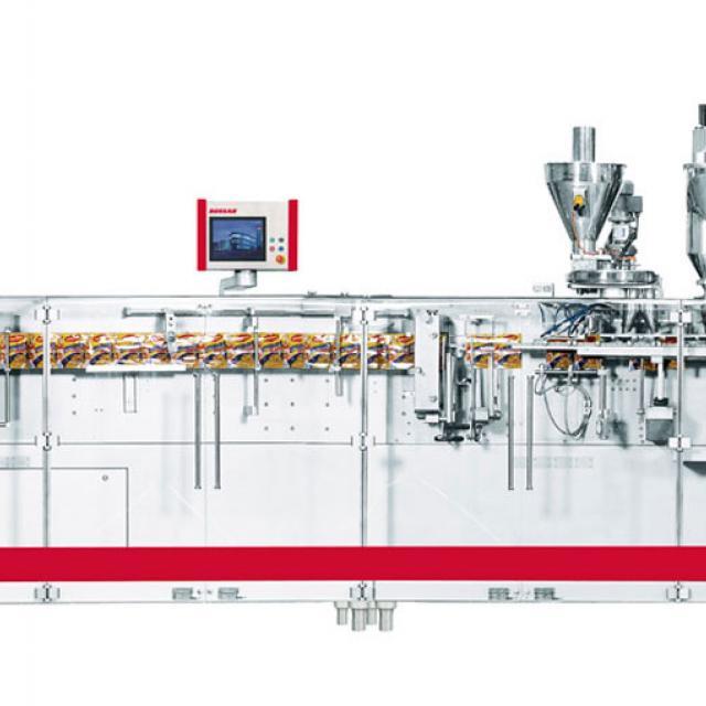 Оборудование, линия для упаковки в дой-пак и саше пакеты Bossar BMK 3300