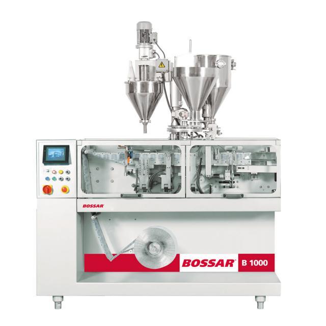 Оборудование, линия для упаковки в саше пакет Bossar B 1000