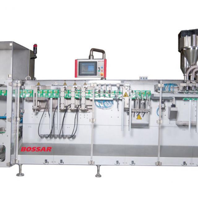 Оборудование, линия для упаковки в саше пакет Bossar B 3800 / 3