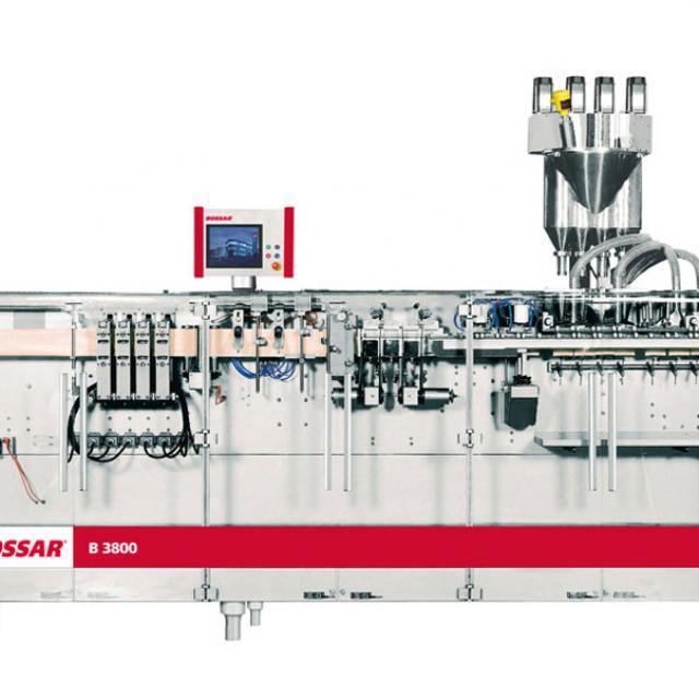 Оборудование, линия для упаковки в саше пакет Bossar B 3800 / 4