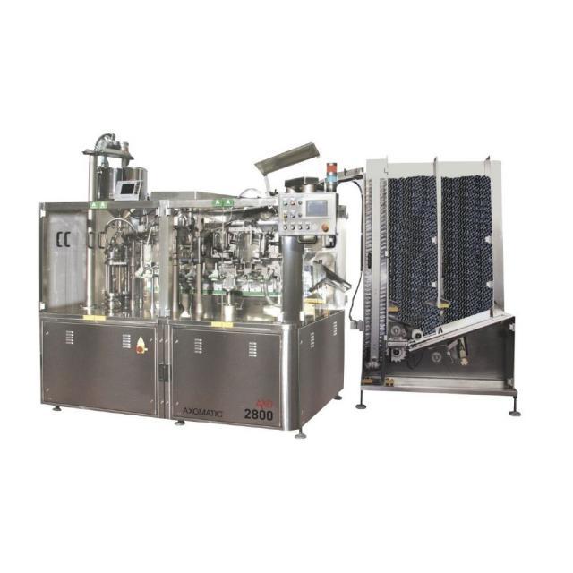 Оборудование, тубонаполнительная машина Axomatic Ахо 2800