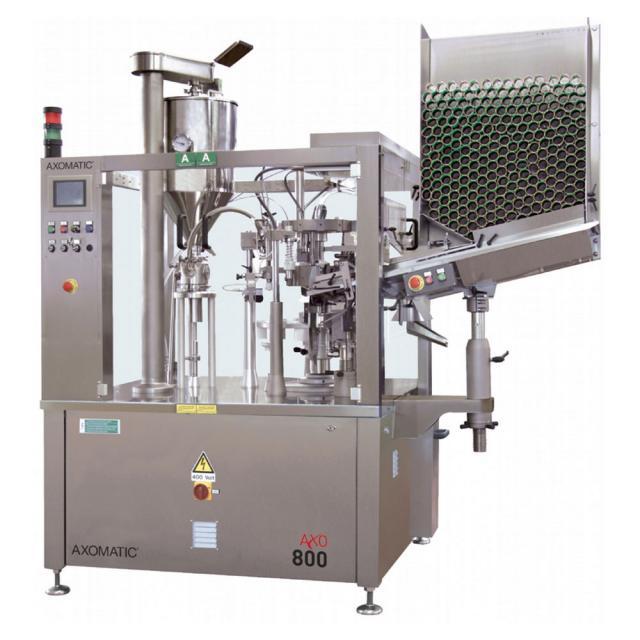 Оборудование, Тубонаполнительная машина Axomatic Ахо 800