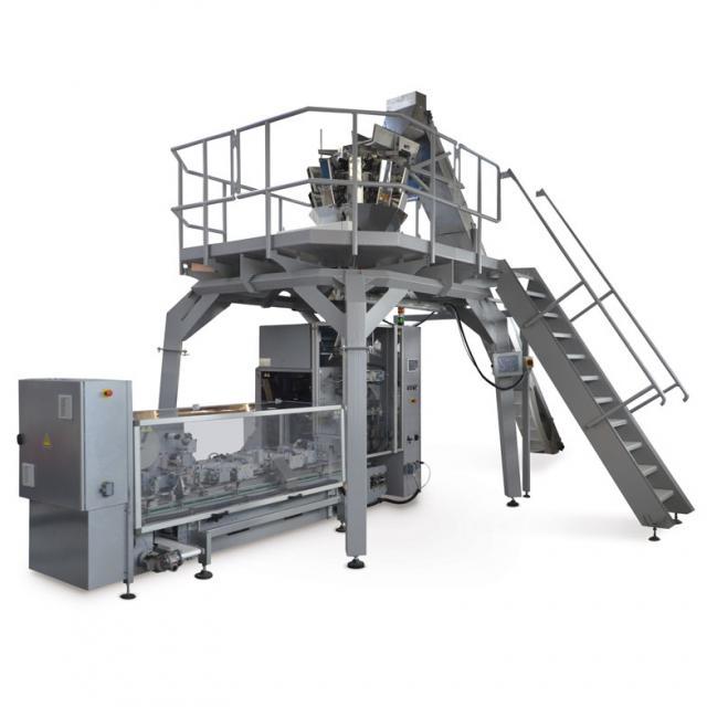 Оборудование, вертикальная упаковочная машина в пакет типа брикет Cube 250SBL, 350SBL Nomatech