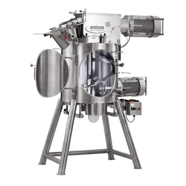 Оборудование для приготовления, техническое оборудование, вертикальный одновальный смеситель Amixon типа VM