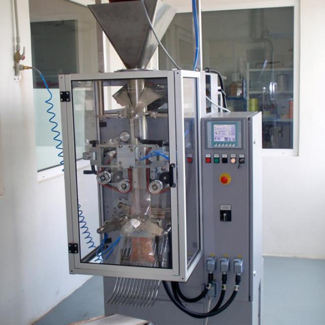Оборудование, вертикальный упаковочный автомат ВТН-41 для фасовки бакалейный продуктов после капитального ремонта