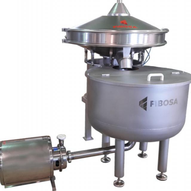 Оборудование, Вибрационный фильтр мелких частиц Fibosa