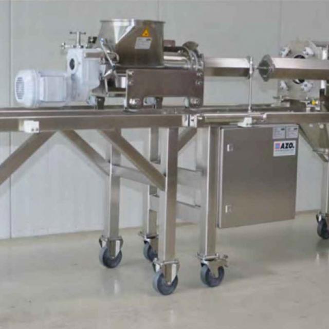 Оборудование для автоматизации, вихревой просеиватель AZO модель DA360N с самодозированием