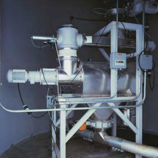 Оборудование для автоматизации, вихревой просеиватель AZO модель E800
