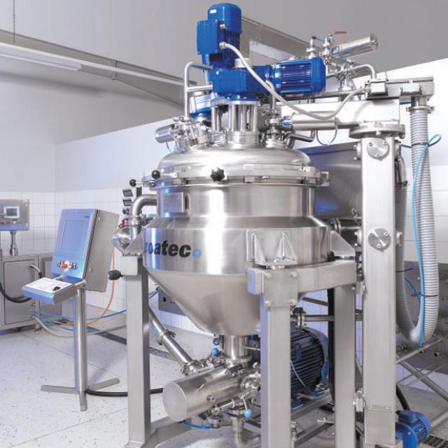 Технологическое оборудование, линия для производства соусов AZO Liquids
